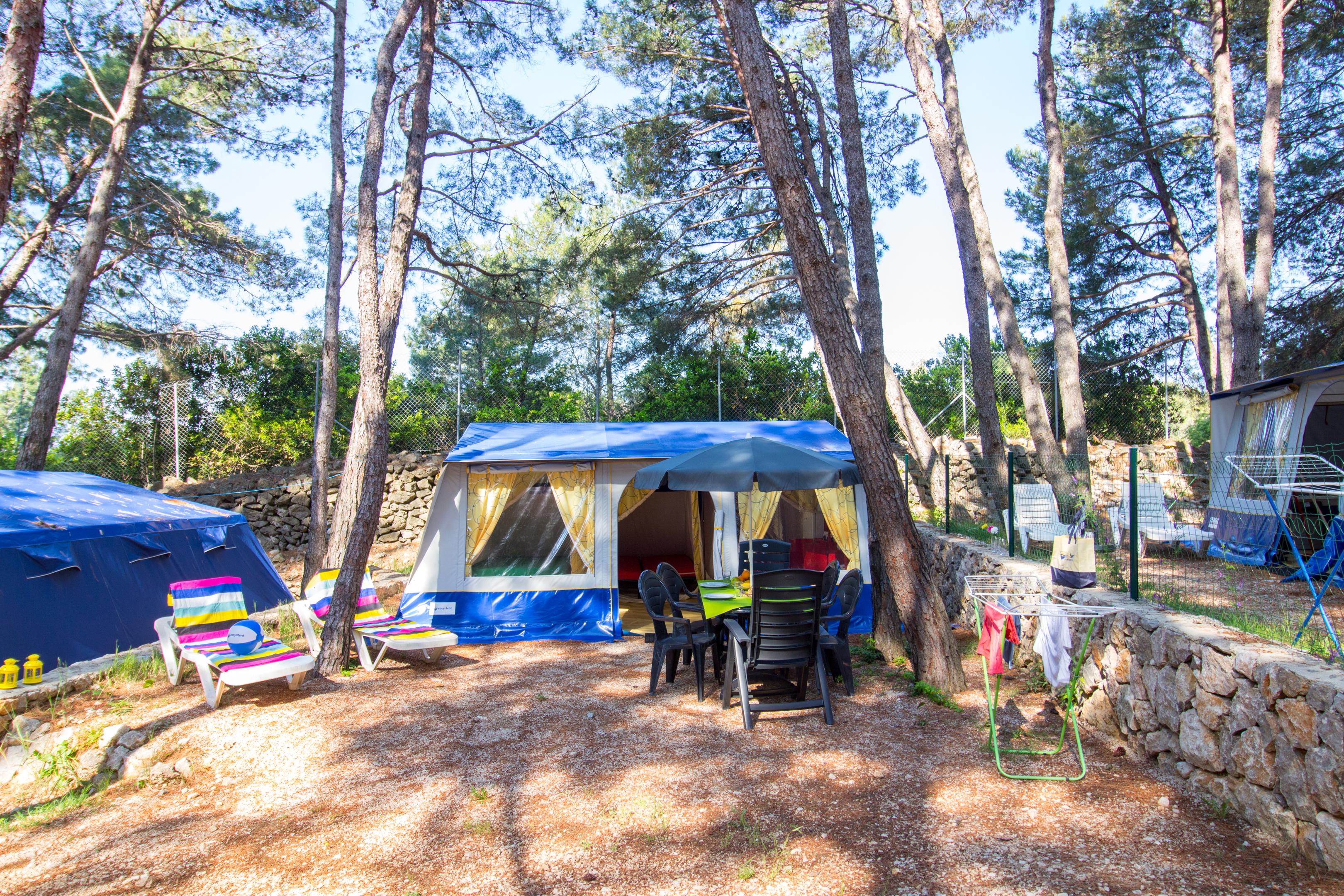 Voordelig Kamperen met Easy a Tent! Kampeervakantie Kroatië