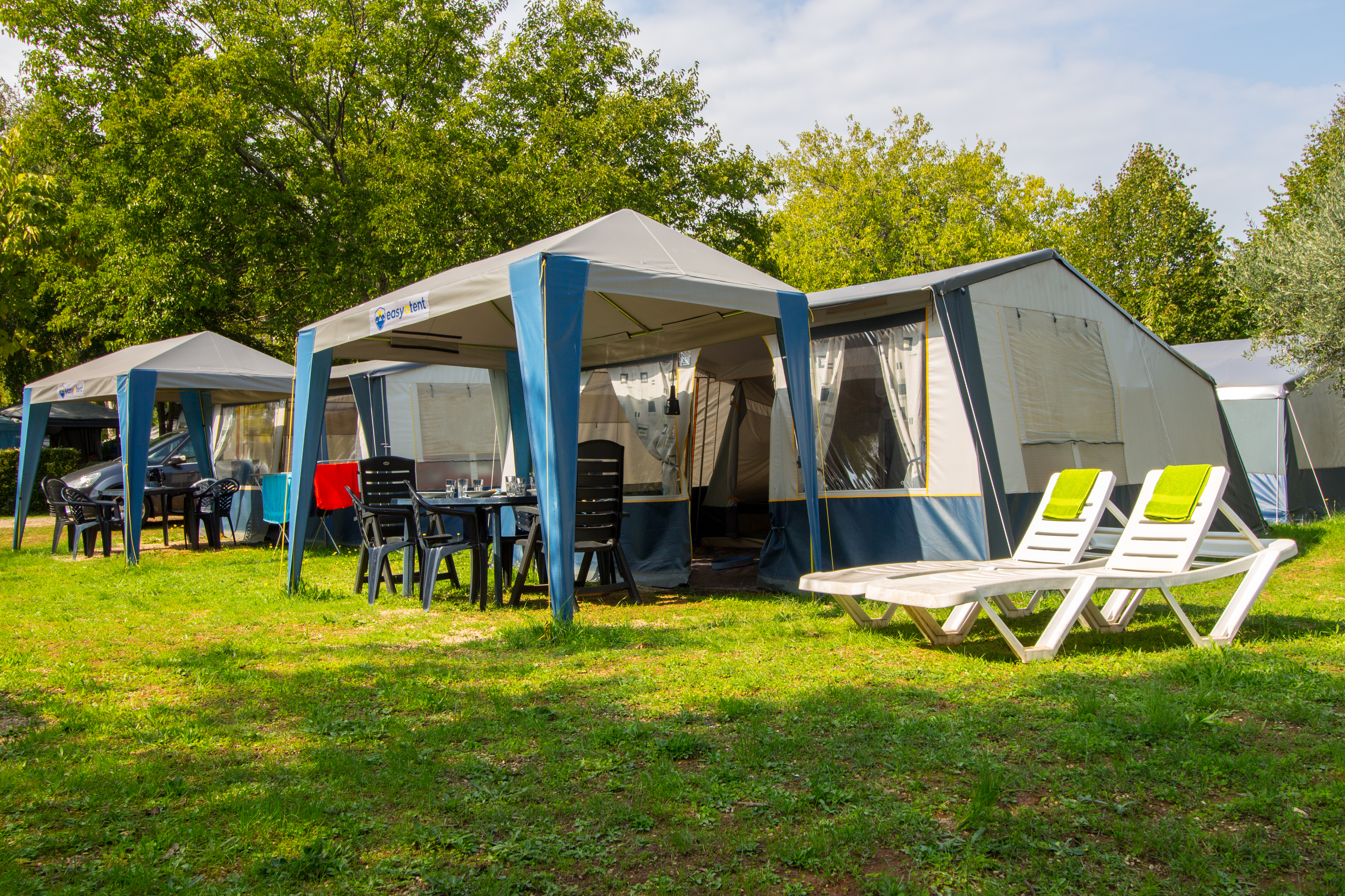 Bungalow tent & Luxury camping in Croatia? Book a bungalow tent