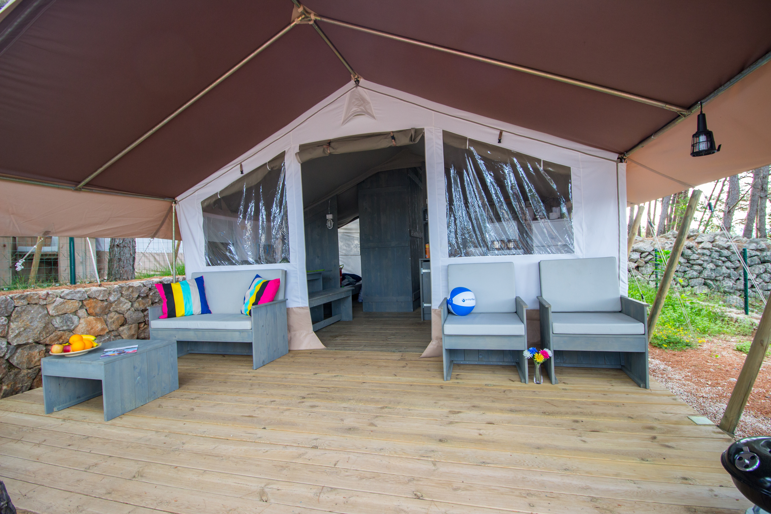 Safaritent Croatia | Luxury camping holiday | Easyatent
